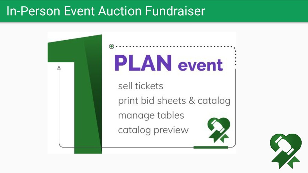 In-Person Event Auction Fundraiser