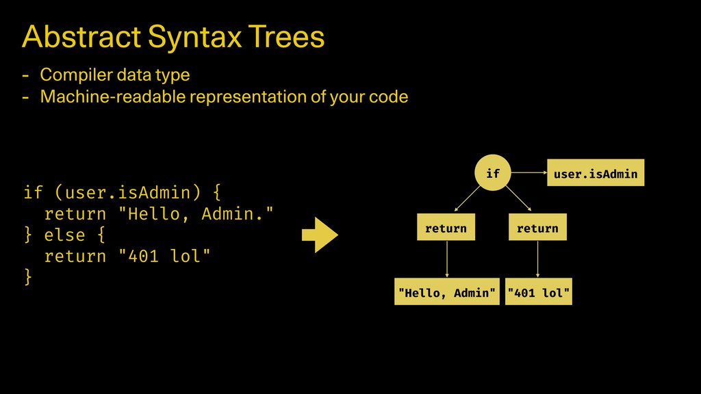 Abstract Syntax Trees - Compiler data type - Ma...
