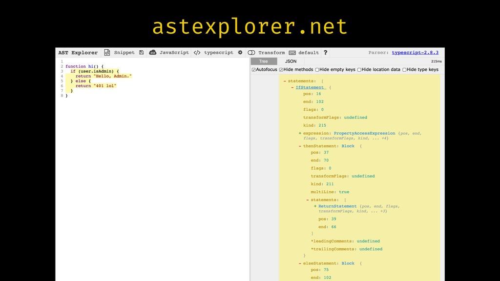 astexplorer.net