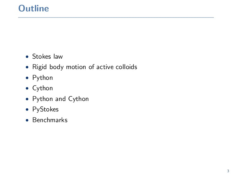 Outline • Stokes law • Rigid body motion of act...