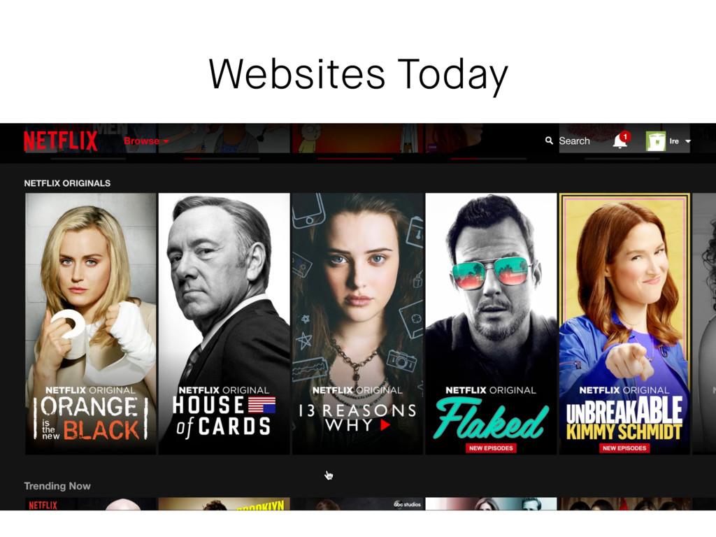 Websites Today