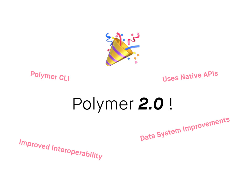Polymer 2.0 ! Improved Interoperability Data Sy...