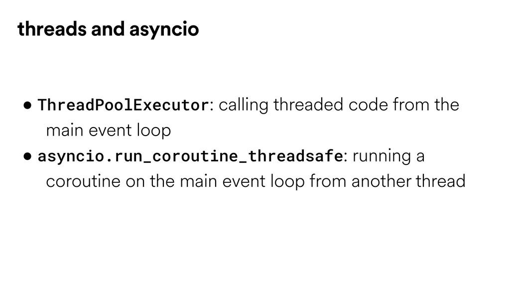 • ThreadPoolExecutor: calling threaded code fro...