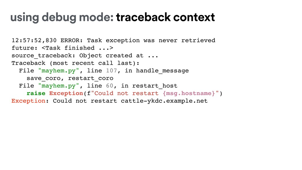 12:57:52,830 ERROR: Task exception was never re...