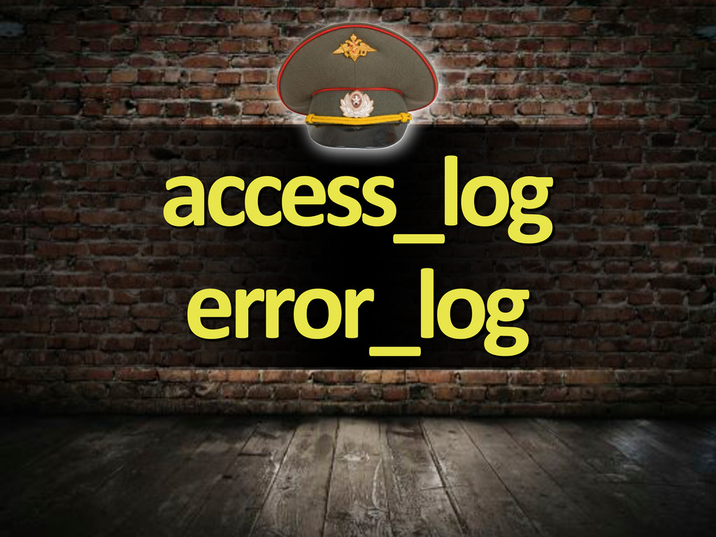 access_log error_log