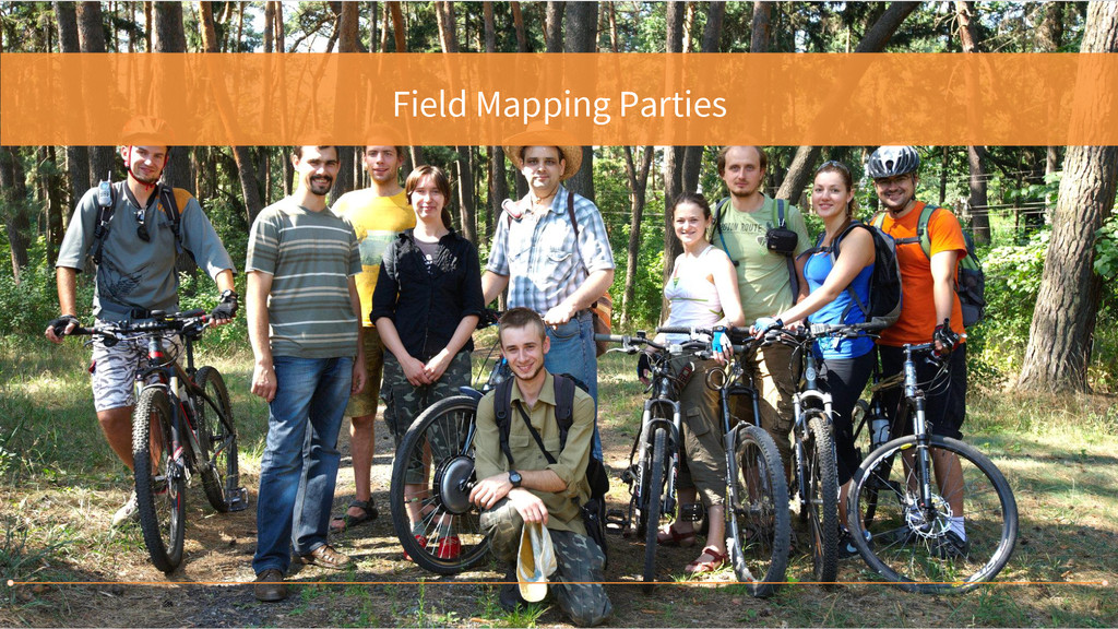 Field Mapping Parties