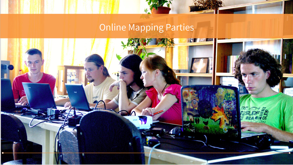 Online Mapping Parties