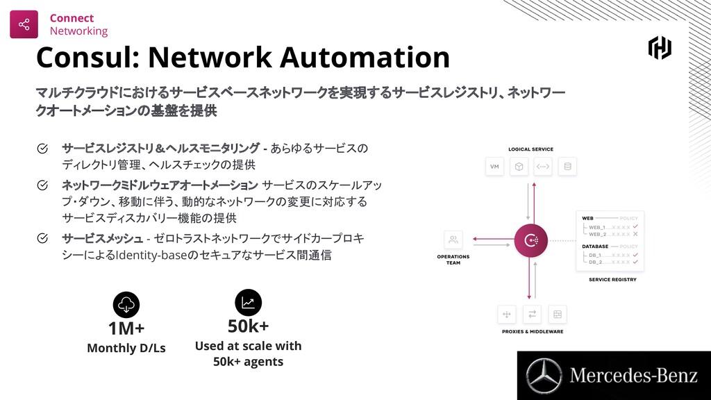 Consul: Network Automation マルチクラウドにおけるサービスベースネッ...
