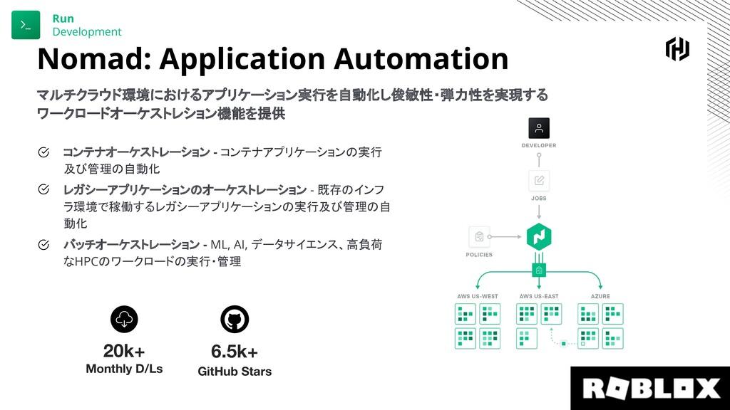 Nomad: Application Automation マルチクラウド環境におけるアプリケ...