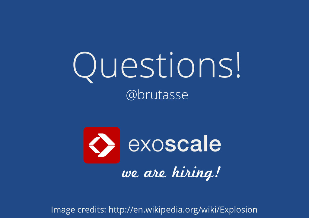 we are hiring! Questions! @brutasse Image credi...
