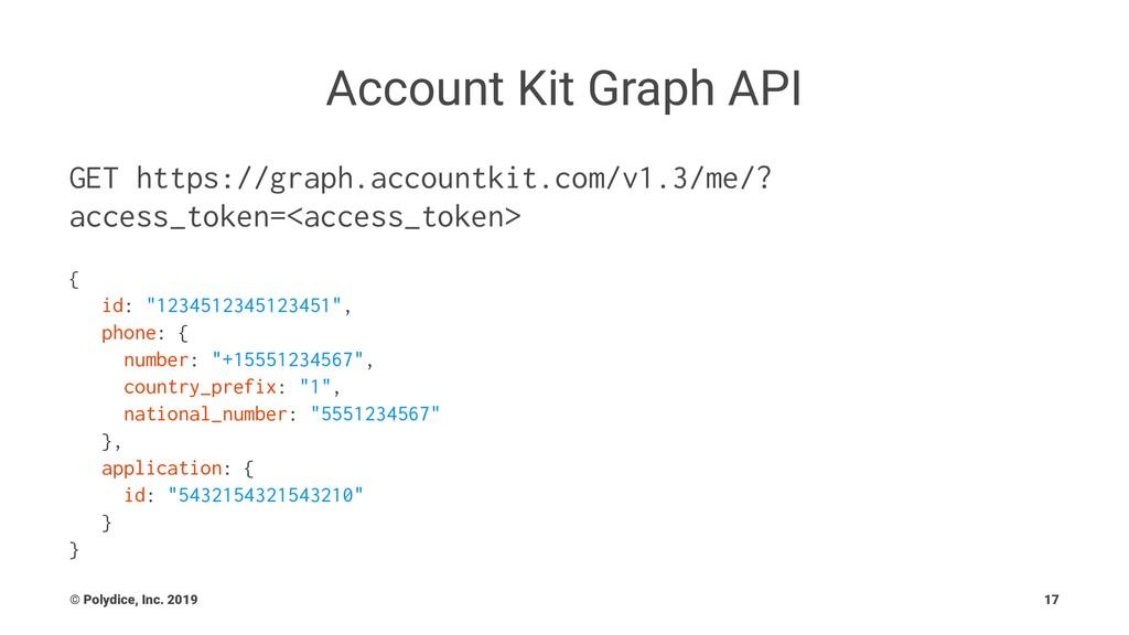 Account Kit Graph API GET https://graph.account...