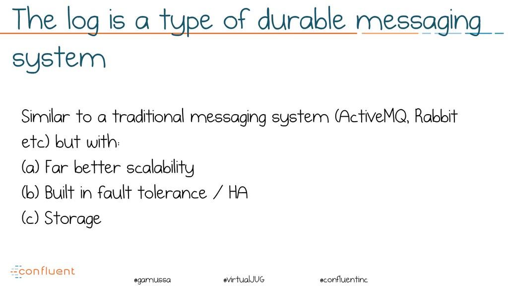 @ @gamussa @virtualJUG @confluentinc Similar to...
