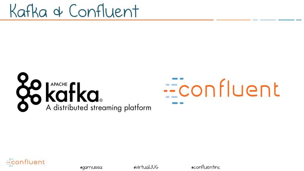 @ @gamussa @virtualJUG @confluentinc Kafka & Co...