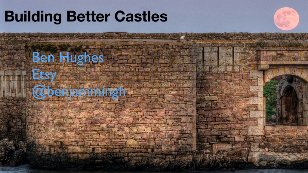 Building Better Castles Ben Hughes  Etsy  @...