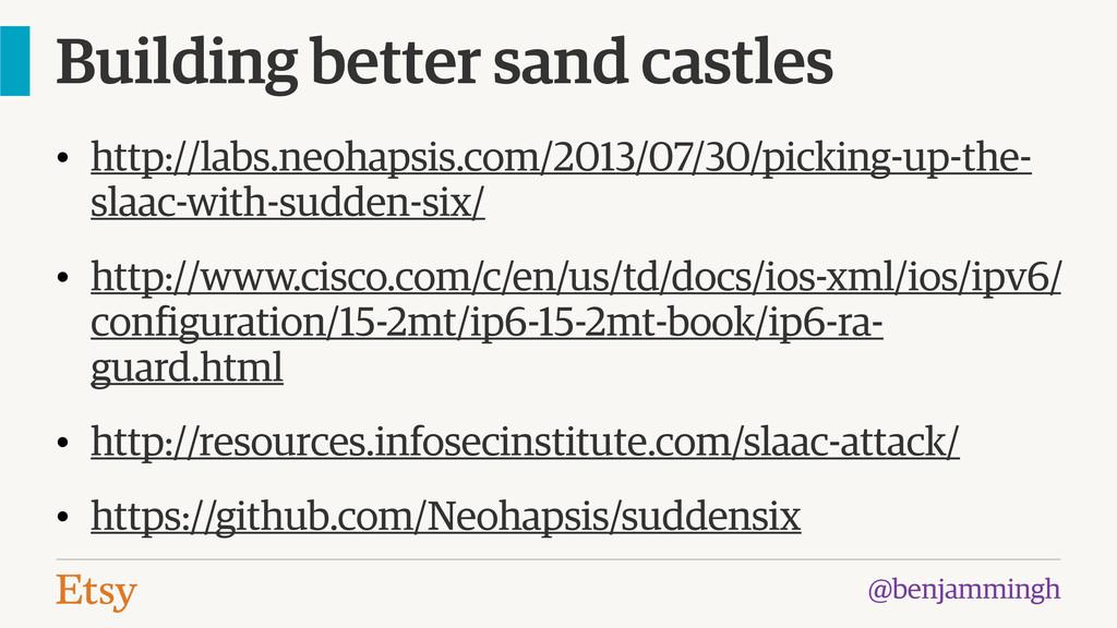 @benjammingh Building better sand castles • htt...