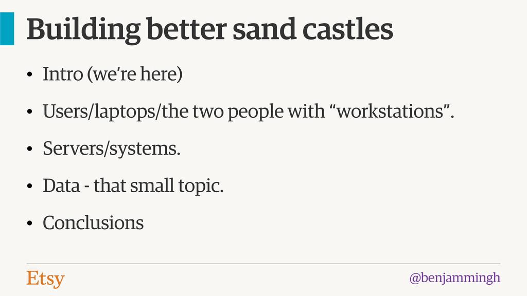 @benjammingh Building better sand castles • Int...