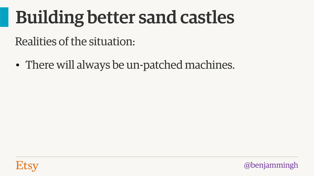 @benjammingh Building better sand castles • The...
