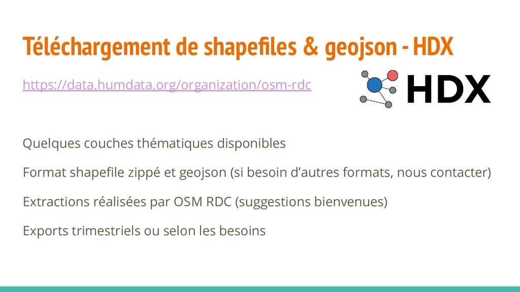 Téléchargement de shapefiles & geojson - HDX htt...