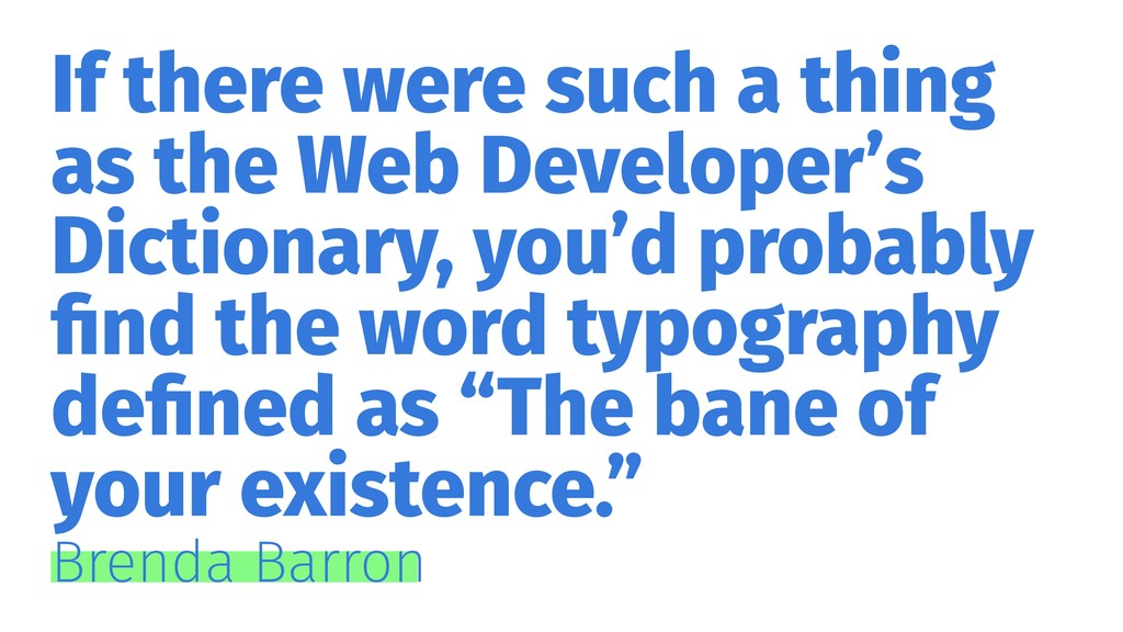 If there were such a thing as the Web Developer...