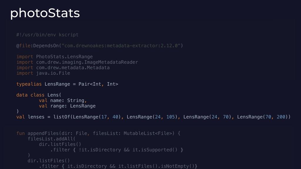 """#!/usr/bin/env kscript @file:DependsOn(""""com.dre..."""
