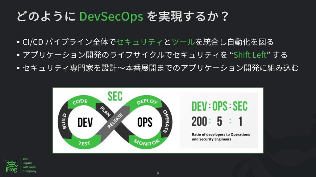 DevSecOps § CI/CD § Shift Left § 8