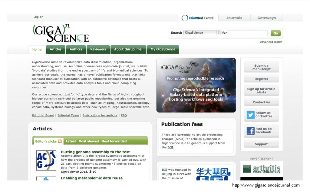 http://www.gigasciencejournal.com