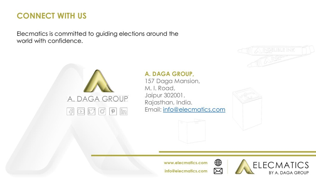 Elecmatics is committed to guiding elections ar...