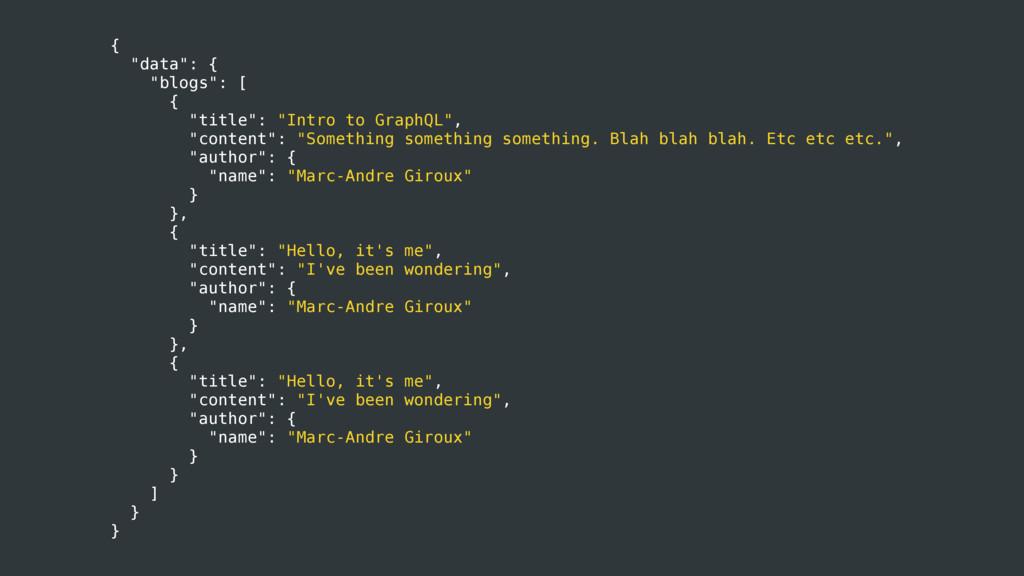 "{ ""data"": { ""blogs"": [ { ""title"": ""Intro to Gra..."