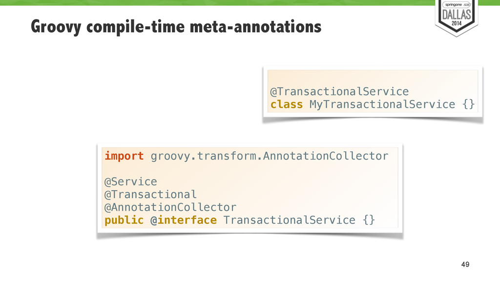 Groovy compile-time meta-annotations 49 import ...