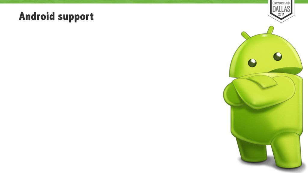 Android support 83