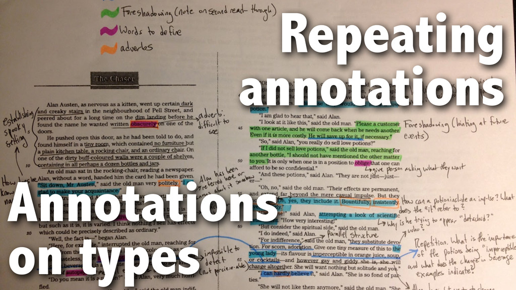 Annotations on types Repeating annotations