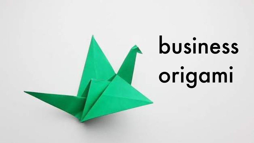 business origami