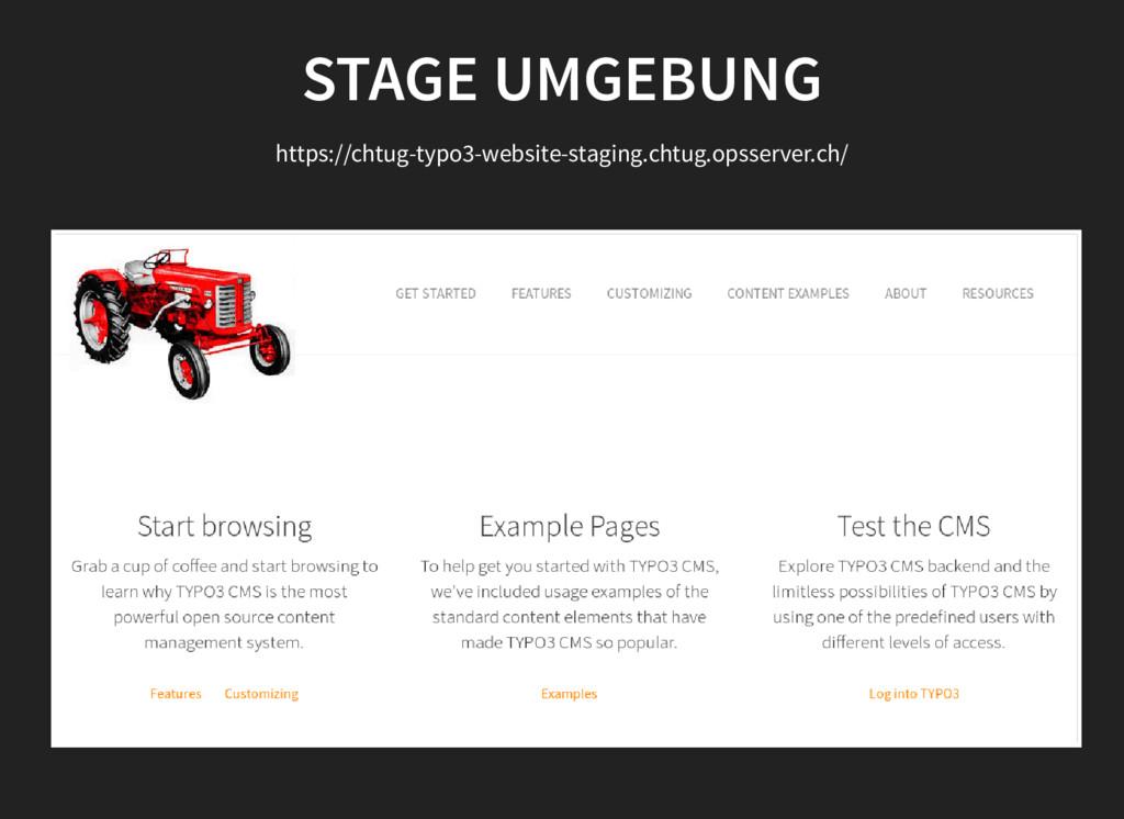 STAGE UMGEBUNG https://chtug-typo3-website-stag...
