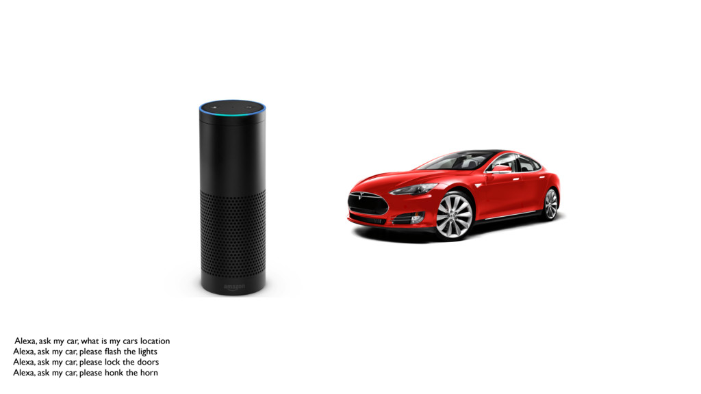 Alexa, ask my car, what is my cars location Ale...