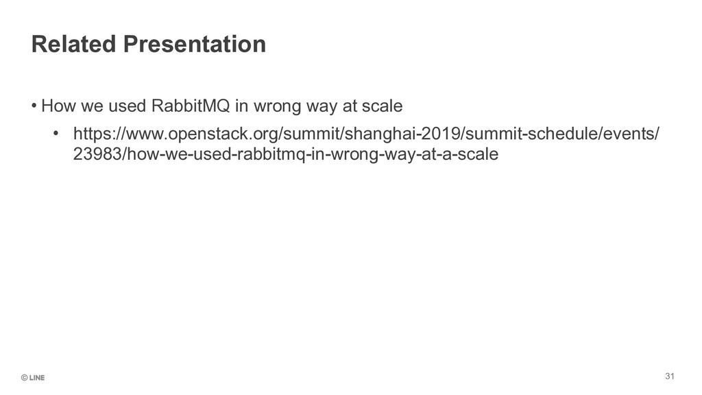 • How we used RabbitMQ in wrong way at scale • ...