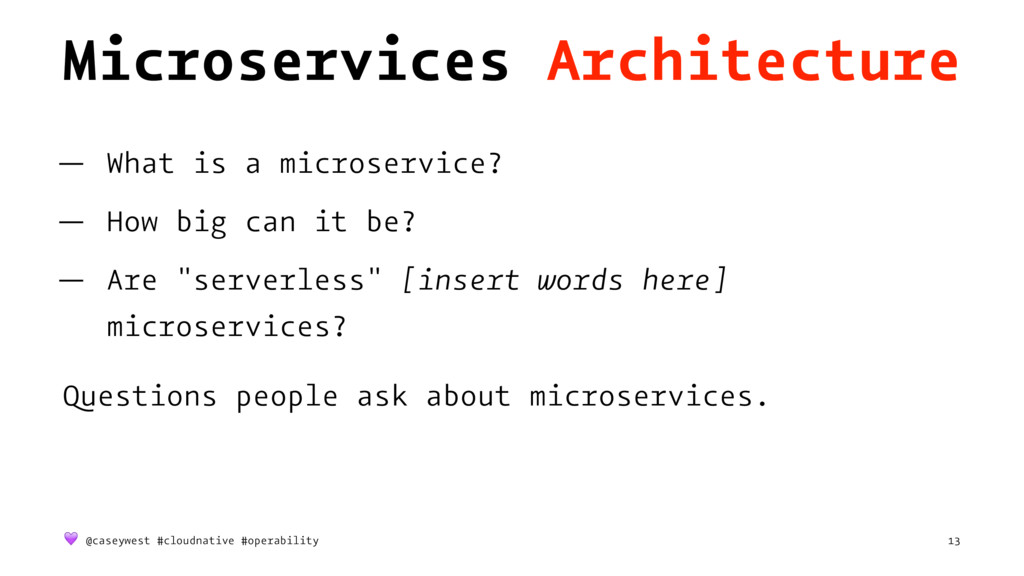 Microservices Architecture — What is a microser...