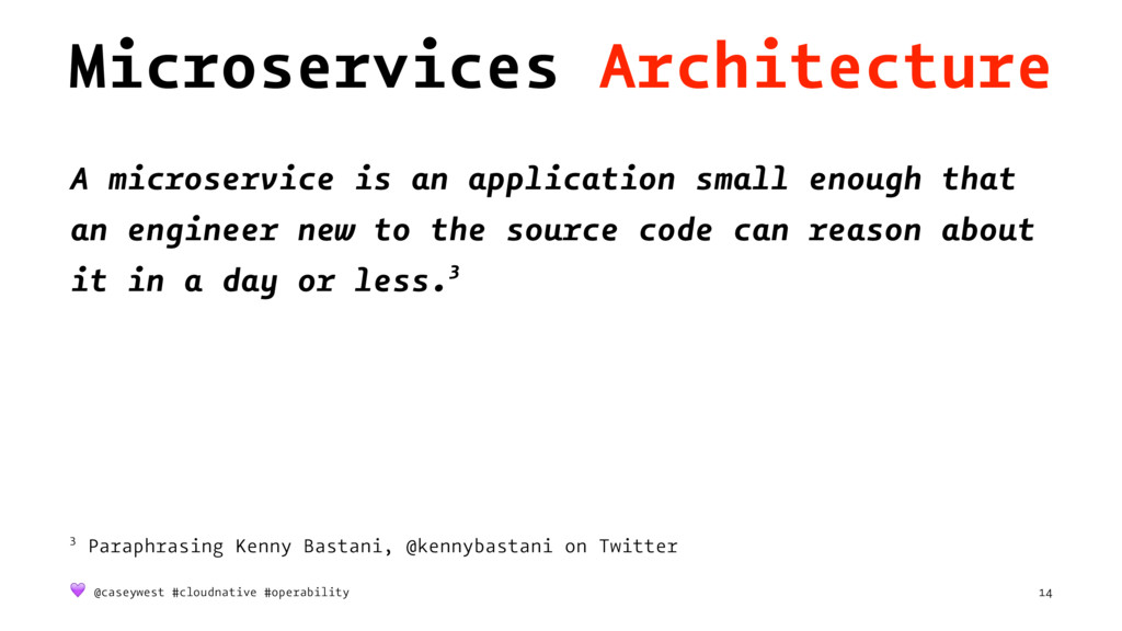 Microservices Architecture A microservice is an...