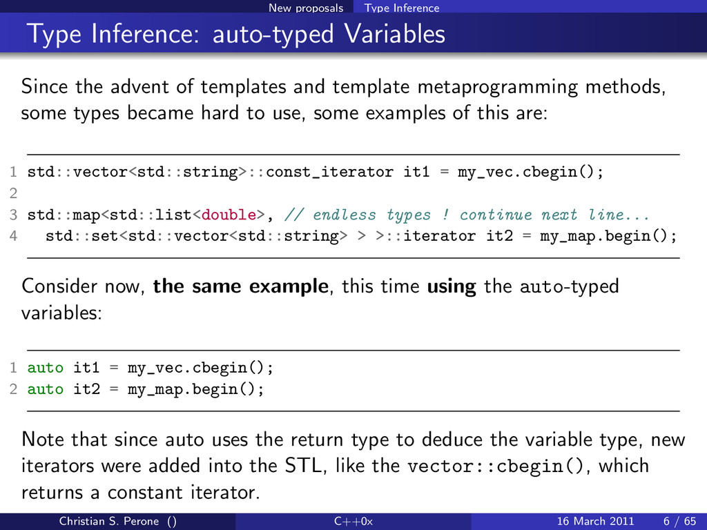 New proposals Type Inference Type Inference: au...