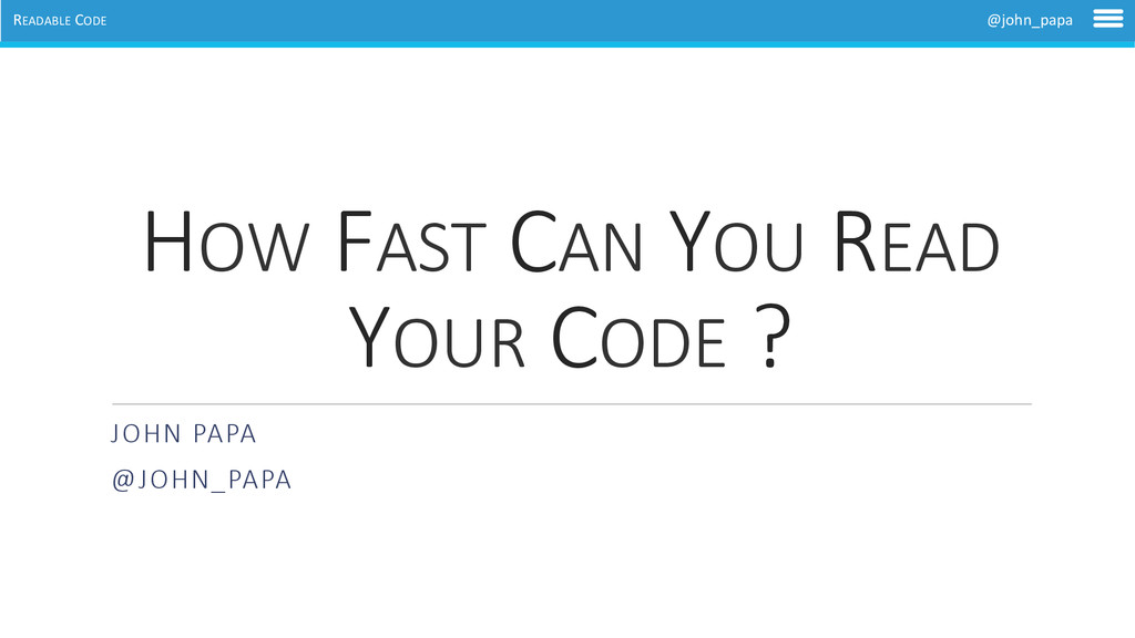 READABLE	