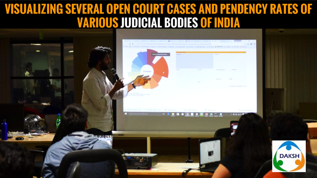 VISUALIZING SEVERAL OPEN COURT CASES AND PENDEN...