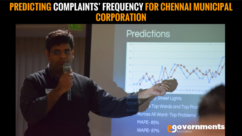 PREDICTING COMPLAINTS' FREQUENCY FOR CHENNAI MU...