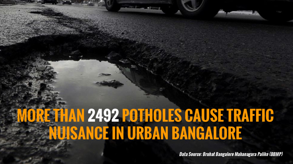 MORE THAN 2492 POTHOLES CAUSE TRAFFIC NUISANCE ...