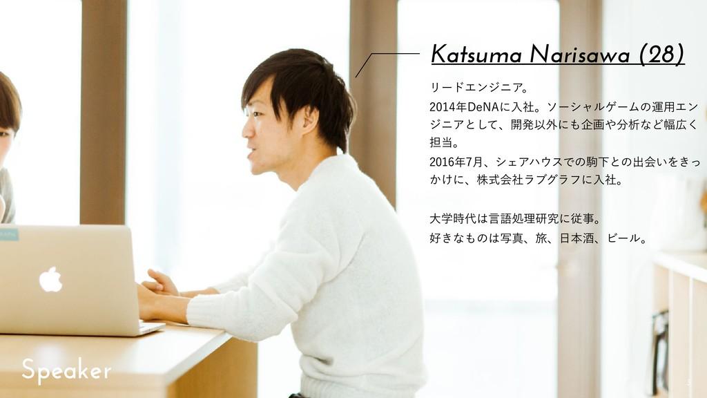 """!3 Katsuma Narisawa (28) ϦʔυΤϯδχΞɻ %F/""""ʹೖ..."""