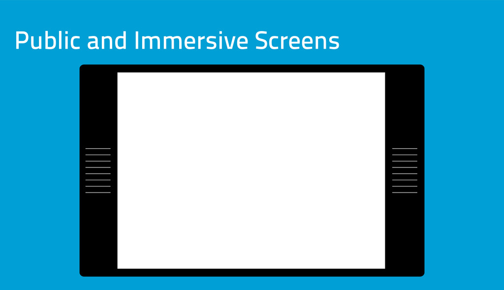 Public and Immersive Screens
