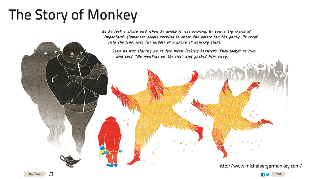The Story of Monkey http://www.michelbergermonk...