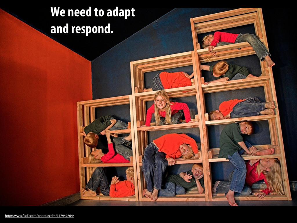 We need to adapt and respond. http://www.flickr...