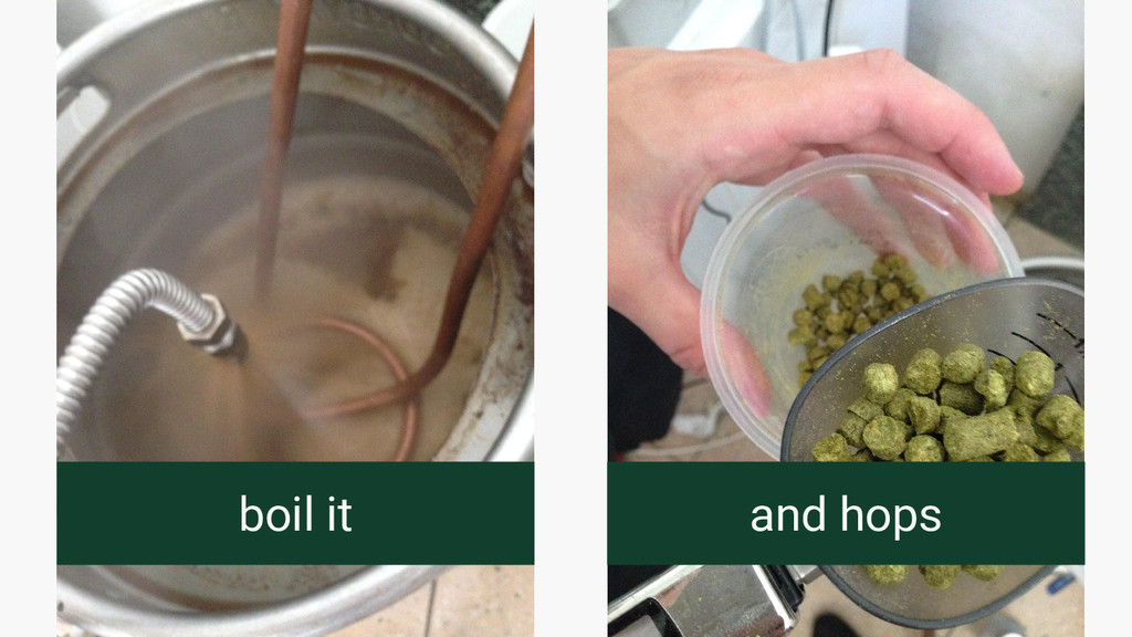 boil it and hops