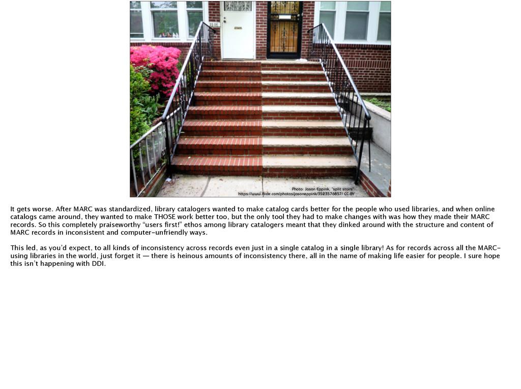 "Photo: Jason Eppink, ""split stairs"" https://www..."