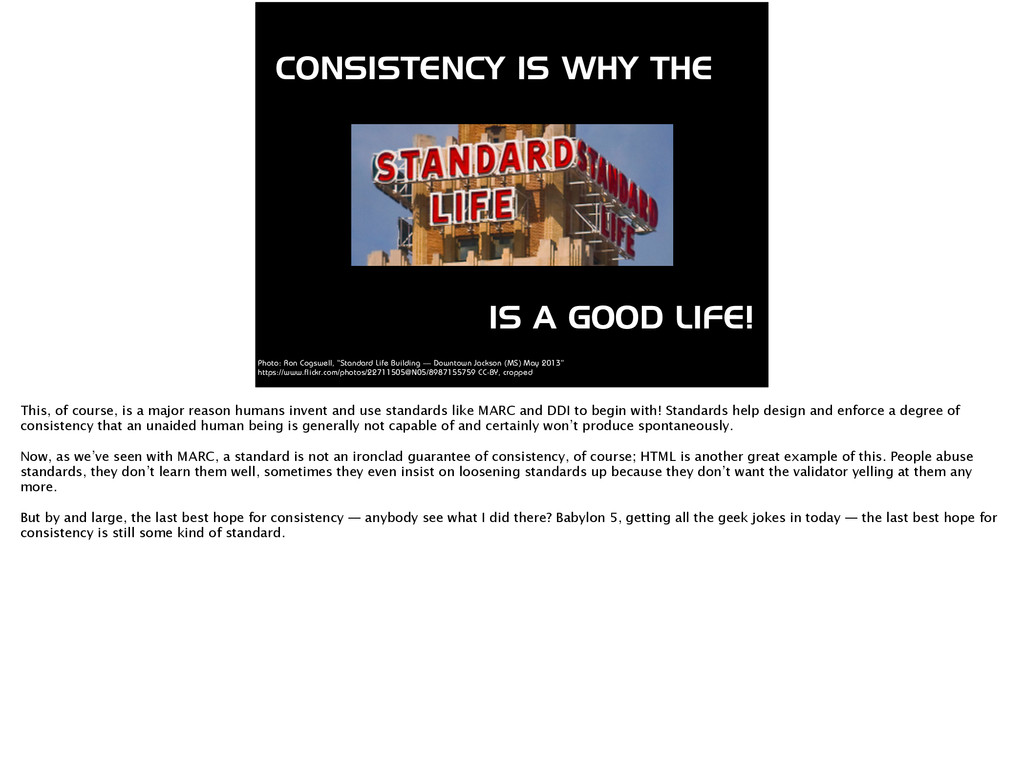 CONSISTENCY IS WHY THE IS A GOOD LIFE! Photo: R...