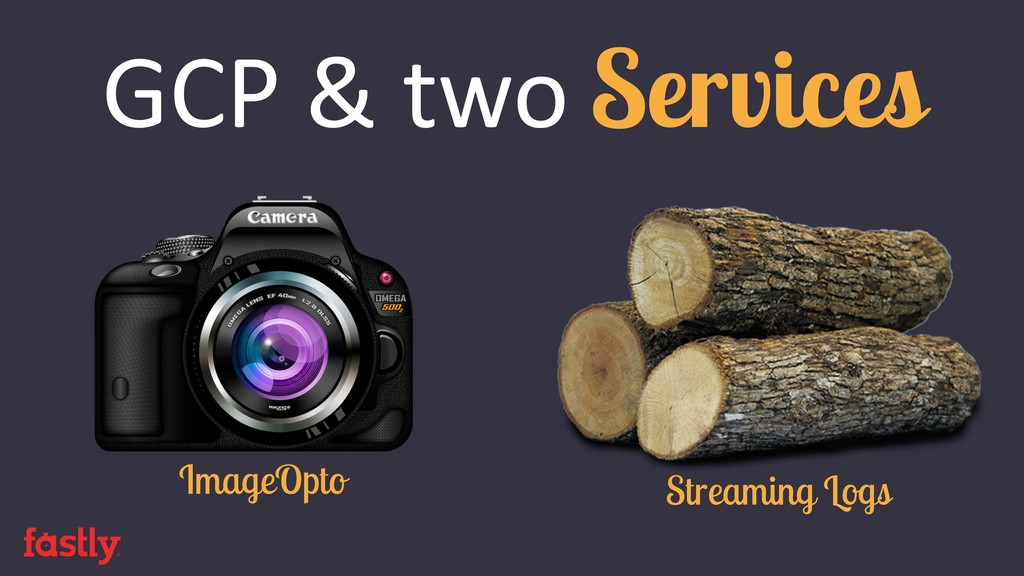 GCP & two Services ImageOpto Streaming Logs
